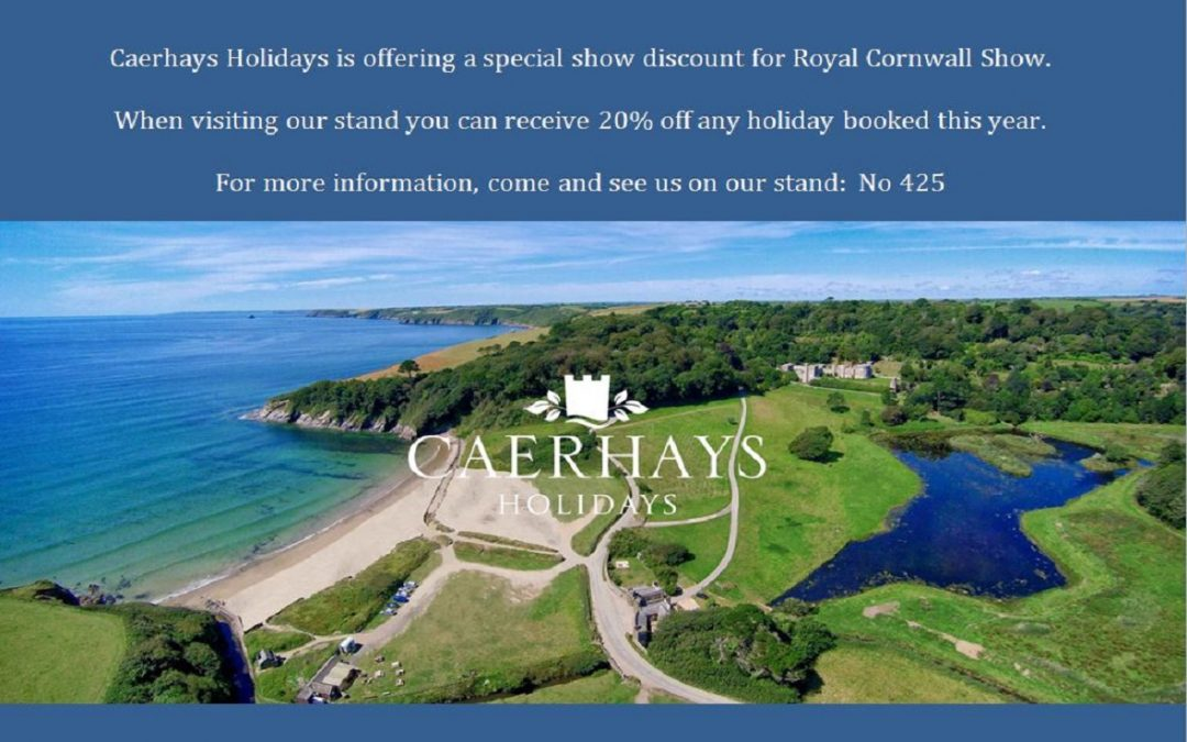Royal Cornwall Show offer