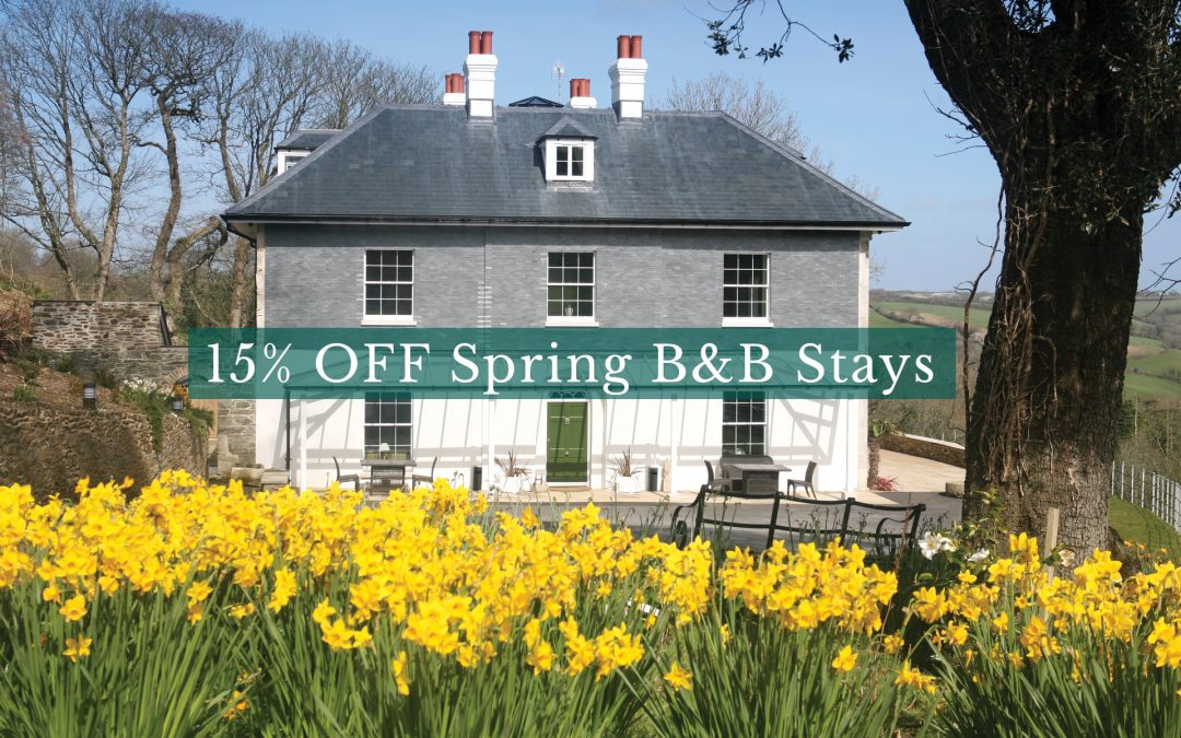 15% Off Spring B&B Stays at The Vean