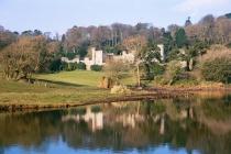 Castle & Lake in Autumn